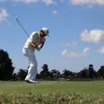 ゴルフと左肘痛